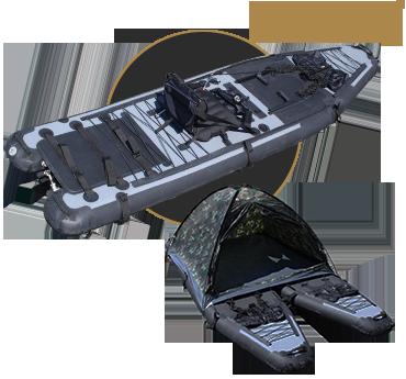 Kayak haute pression hp commando  MK 1